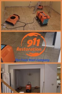 911 Restoration of Bakersfield_Flooding